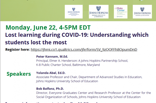 Lost learning during COVID-19: Understanding which students lost the most
